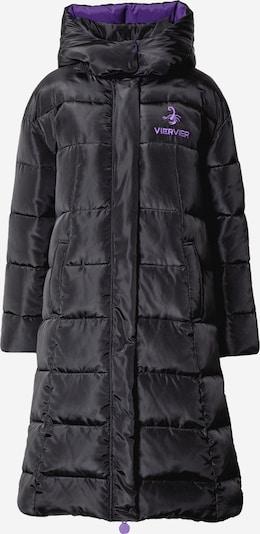 VIERVIER Oversized Coat 'Josefin' in schwarz, Produktansicht