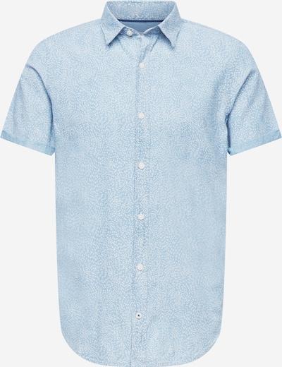 s.Oliver Hemd in hellblau / weiß, Produktansicht