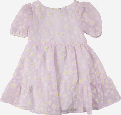 Chi Chi Girls Kleid 'Sabrina' in limone / pastelllila / weiß, Produktansicht