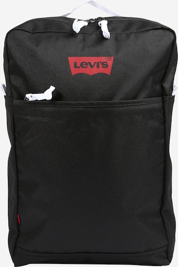 LEVI'S Rucksack in rot / schwarz / weiß, Produktansicht