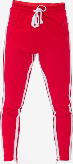 Tom Barron Sweathose MAN TRACKPANTS in rot, Produktansicht
