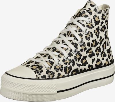CONVERSE Sneaker 'Chuck Taylor All Star Lift' in beige / hellbraun / schwarz, Produktansicht