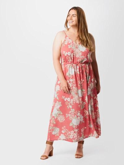 ABOUT YOU Curvy Letné šaty 'Eloy' - zmiešané farby / ružová, Model/-ka