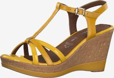 TAMARIS Strap sandal in yellow, Item view