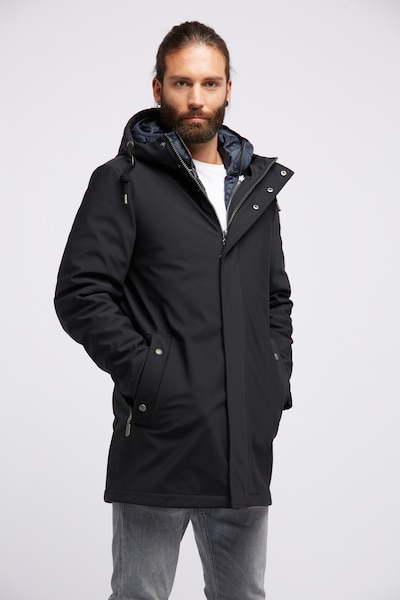 DreiMaster Klassik Winterjas in de kleur Zwart, Modelweergave