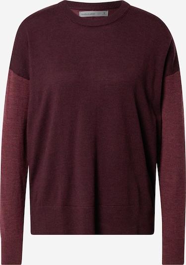 Icebreaker Sportski pulover u boja vina / pastelno crvena, Pregled proizvoda