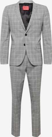 pelēks HUGO Uzvalks 'Hesten212'