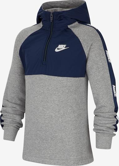 Nike Sportswear Sweatshirt in blau / grau, Produktansicht