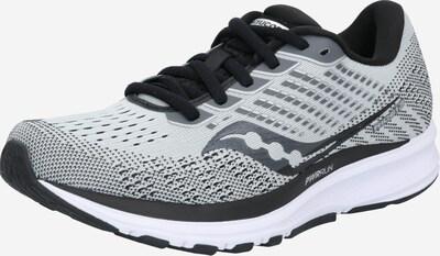 saucony Chaussure de course 'Ride' en noir / blanc, Vue avec produit