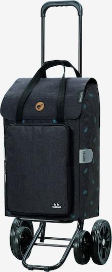 Andersen Shopper Einkaufstrolley 'Ivar' in hellblau / graumeliert, Produktansicht