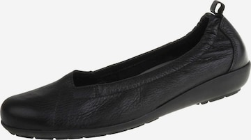 Natural Feet Ballet Flats 'Polina' in Black