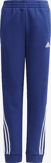ADIDAS PERFORMANCE Sportbroek in de kleur Blauw / Wit, Productweergave