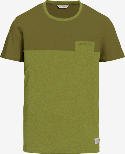 VAUDE T-Shirt 'Nevis III' in grün / oliv, Produktansicht