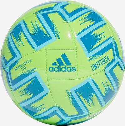 ADIDAS PERFORMANCE Ball in aqua / himmelblau / neongrün, Produktansicht