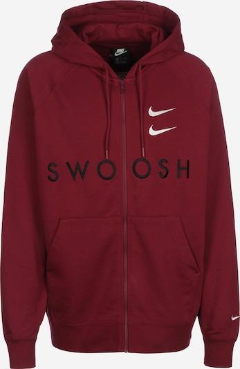 NIKE Sweatshirt 'Sportswear Swoosh' in weinrot, Produktansicht