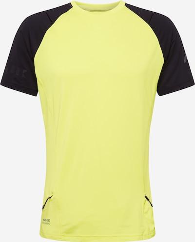 Rukka Sportshirt 'MIVALO' in silbergrau / neongrün / schwarz, Produktansicht