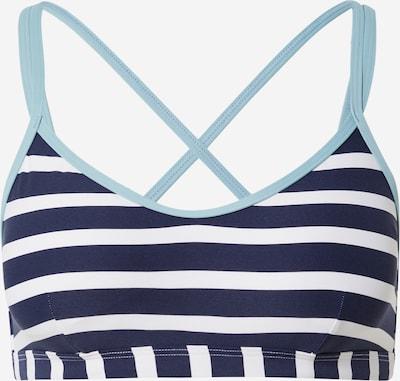 ESPRIT Bikinitop 'Tampa' in de kleur Lichtblauw / Donkerblauw / Wit, Productweergave