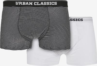 Urban Classics Boxershorts in de kleur Zwart / Wit, Productweergave