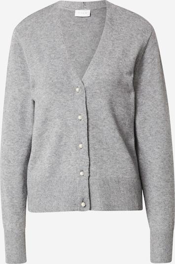 VILA Knit Cardigan 'Ril' in mottled grey, Item view