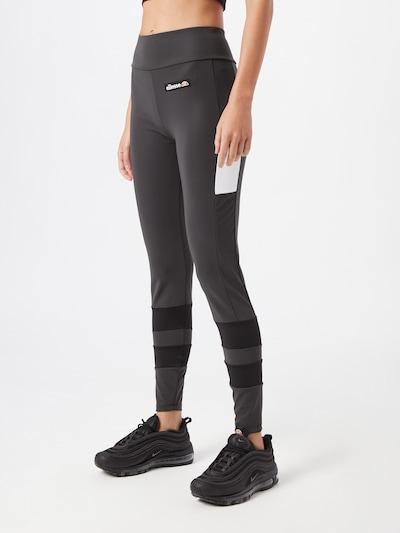 ELLESSE Legging 'Perezi' in grau / schwarz / weiß, Modelansicht
