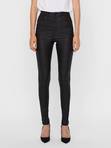 VERO MODA Jeans 'Loa' in Zwart