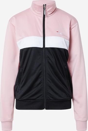 FILA Veste de survêtement 'ELERI' en rose clair / noir / blanc, Vue avec produit