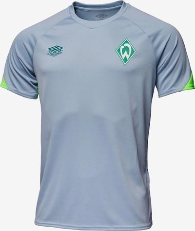 UMBRO Shirt in grau / grün, Produktansicht