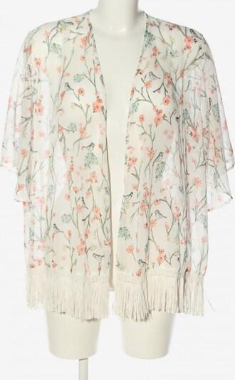 CLOCKHOUSE Kimono in M in khaki / hellorange / wollweiß, Produktansicht