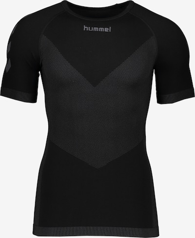 Hummel T-Shirt in grau / schwarz, Produktansicht