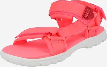 JACK WOLFSKIN Outdoorsandale 'Seven Seas' in Pink