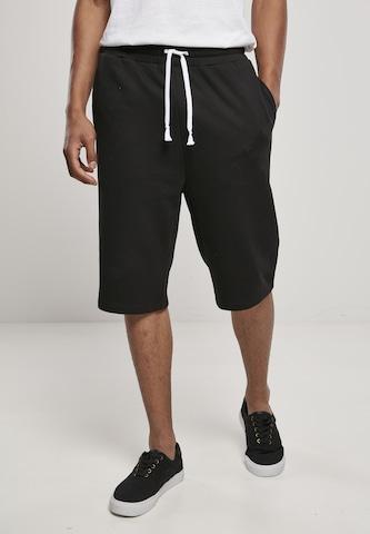 Urban Classics Trousers in Black