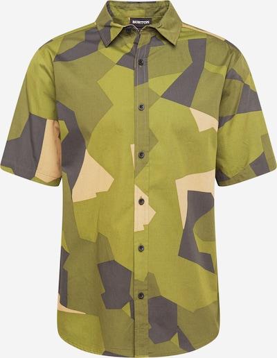 BURTON Hemd 'SHABOOYA' in dunkelgrau / khaki / oliv / schilf, Produktansicht