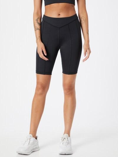 Pantaloni sport Reebok Sport pe negru, Vizualizare model