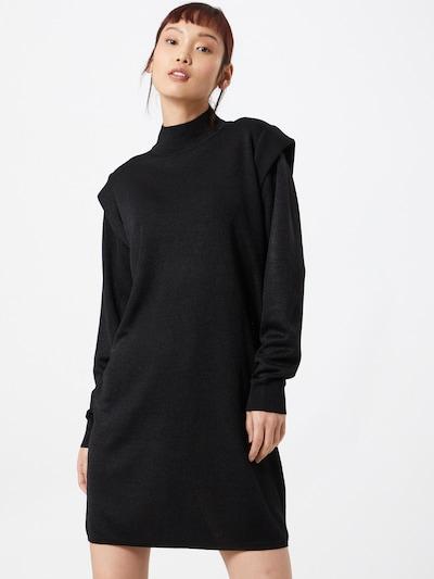 OBJECT Knit dress in black, View model