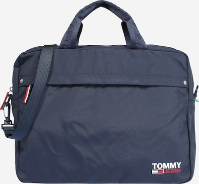 Tommy Jeans Laptoptas 'Campus Boy' in de kleur Navy / Rood / Wit, Productweergave