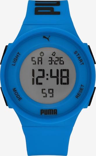 PUMA Digitaluhr in royalblau / schwarz, Produktansicht