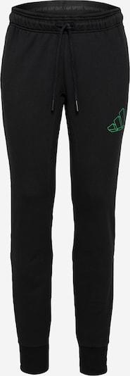 ADIDAS PERFORMANCE Sporta bikses gaiši zaļš / melns, Preces skats