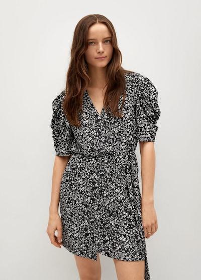 MANGO Kleid 'covita8' in schwarz, Modelansicht