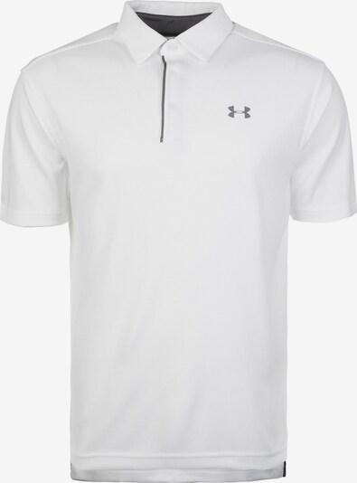UNDER ARMOUR Poloshirt in weiß, Produktansicht