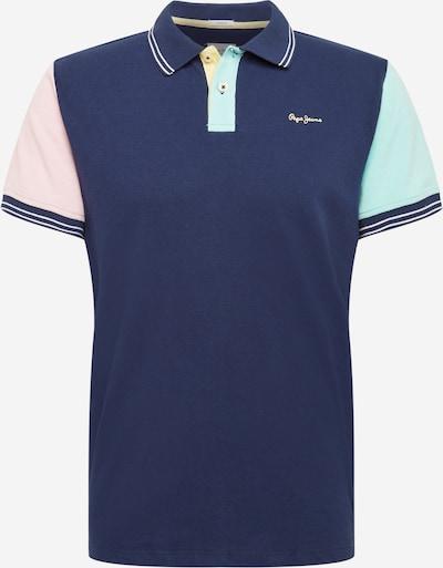 Pepe Jeans Tričko 'BRADFORD' - modrá / svetlomodrá / pastelovo ružová / biela, Produkt