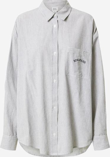 Bluză 'TULLY' BDG Urban Outfitters pe gri / alb, Vizualizare produs
