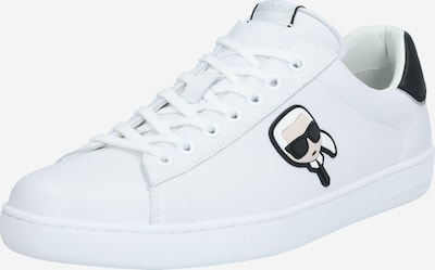 Karl Lagerfeld Sneakers laag 'KOURT II' in de kleur Zwart / Wit, Productweergave