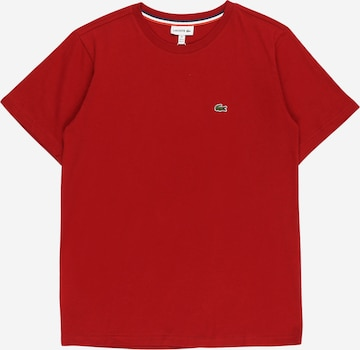 LACOSTE T-Shirt in Rot