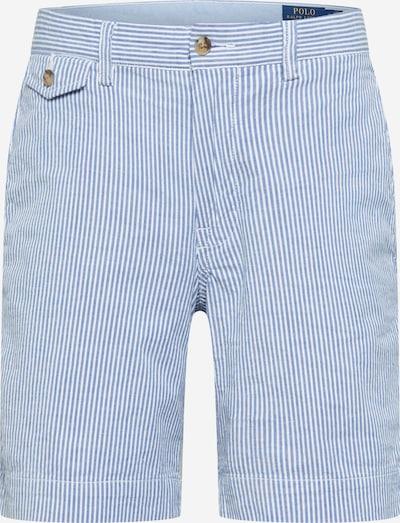 POLO RALPH LAUREN Chino nohavice - svetlomodrá / biela: Pohľad spredu