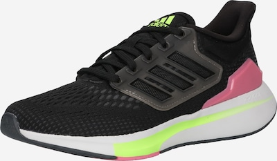 ADIDAS PERFORMANCE Running Shoes 'EQ21' in Lime / Pink / Black, Item view