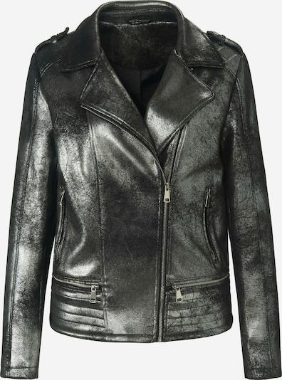 Emilia Lay Outdoorjacke Biker-Jacke in schwarz, Produktansicht