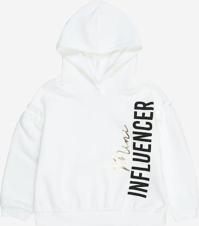 River Island Sweatshirt in schwarz / weiß, Produktansicht