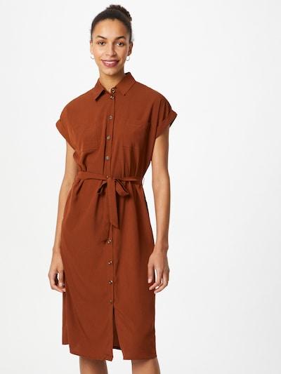ONLY Skjortklänning 'Hannover' i brun, På modell