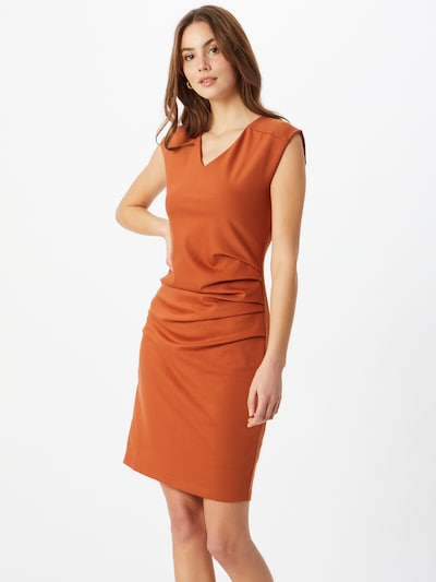 Kaffe Sheath dress 'India' in orange red, View model