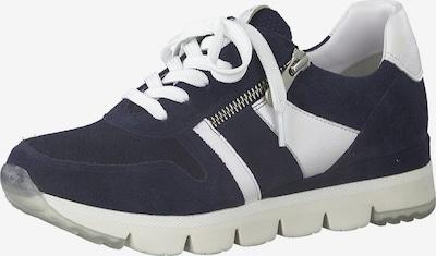 MARCO TOZZI Sneaker in navy / weiß, Produktansicht